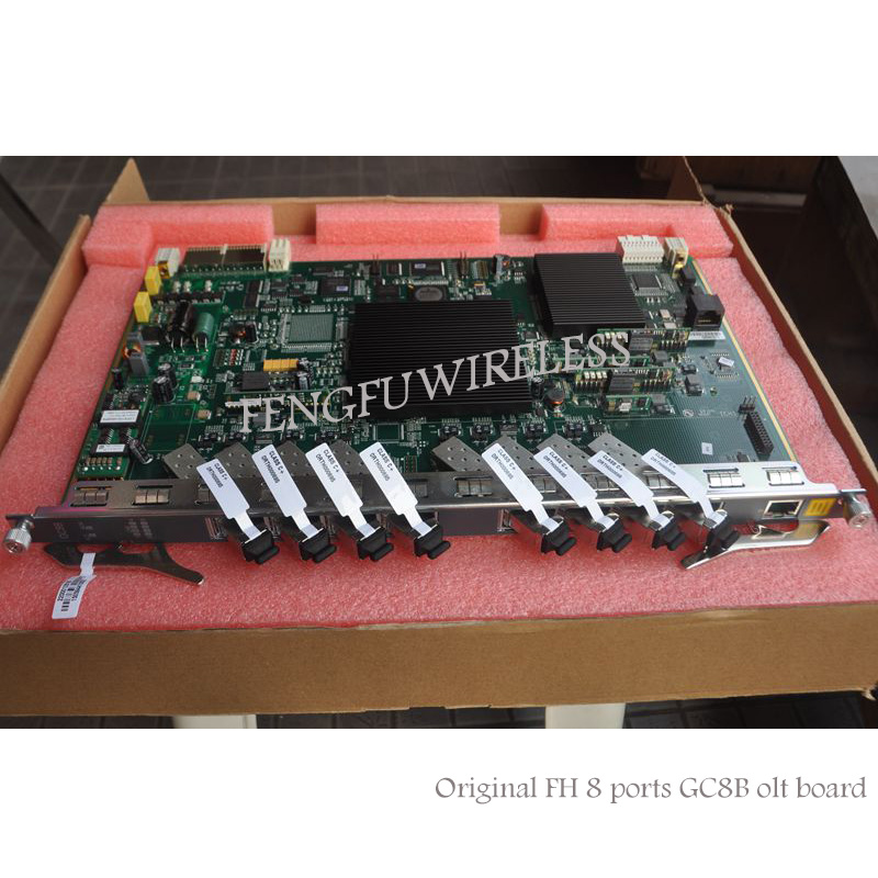 Enthusiastic 2018 Newest Original Hua Wei Gpon Olt Interface Board With 8ports Includes C+ Communication Equipments Sfp Modules Fpr Gpon/epon Olt An5516-01/an5516-04
