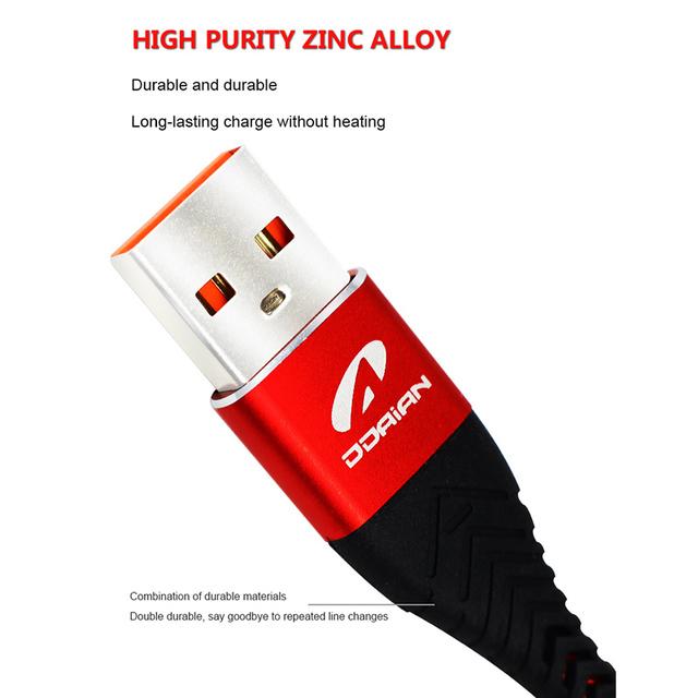 Cable USB para iPhone X XR 8 6 6 s 3.0A de carga rápida Usb Cable