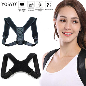 New Posture Corrector Spine Back Shoulder Support Corrector Band Adjustable Brace Correction Humpback Back Pain Relief 1