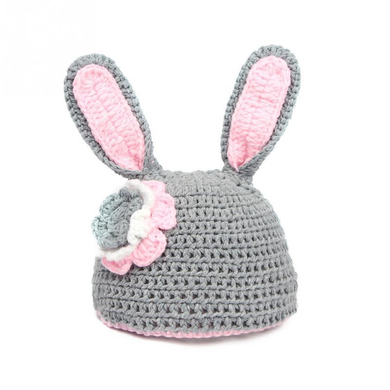 Recién Nacido fotografía apoyos bebé conejito crochet traje de ...