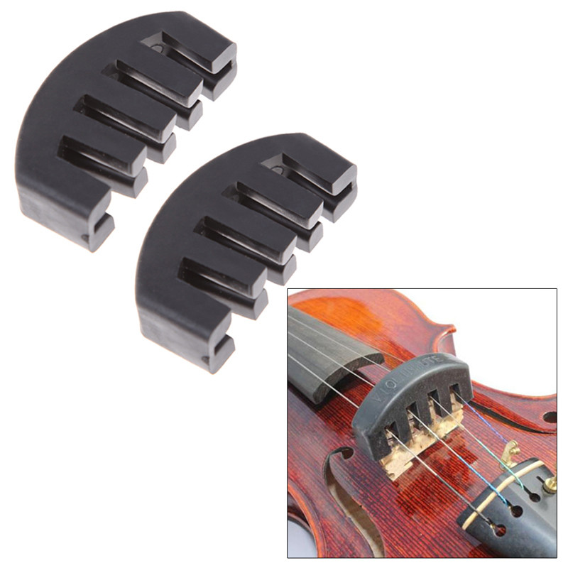 Professional Rubber Practice Five-prong Mute For 1/2 3/4 4/4 Violin Acoustic Electric Silencer Violin Accessories