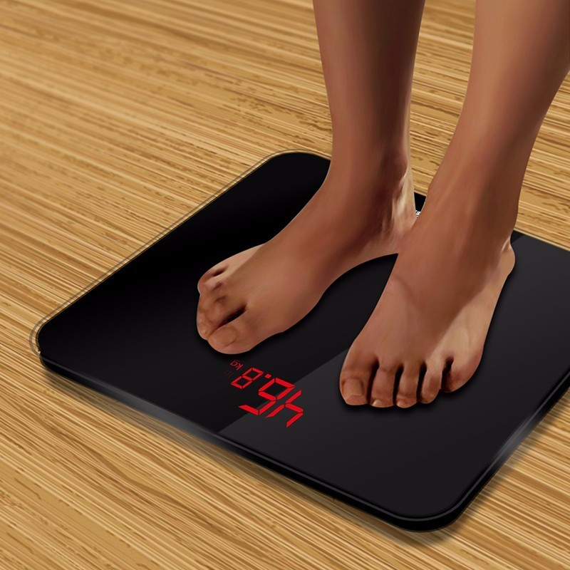 A3 Bathroom Scales Accurate Smart Electronic Digital Weight Home Floor Health Balance Body Glass LED Display 180kg(China)