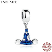INBEAUT Trendy 925 Sterling Silver Charm For Women Christmas Hat Pendant For Chain Necklace Bead Fit