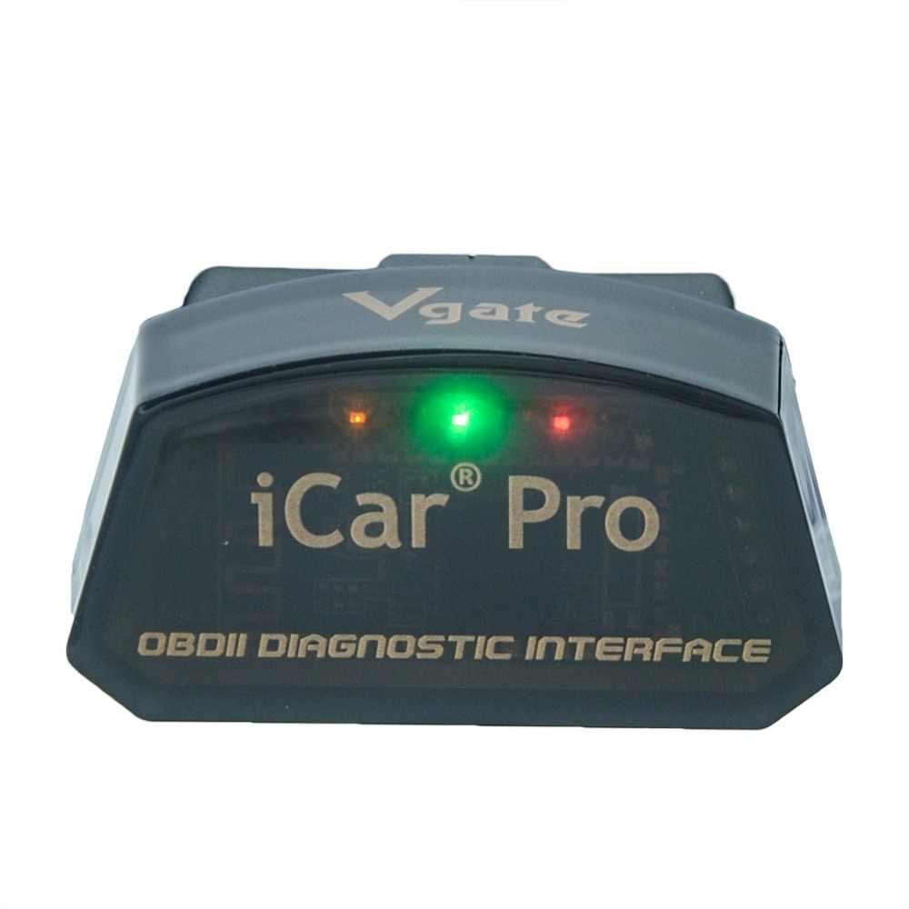 Vgate iCar Pro elm327 V2 1 WiFi/Bluetooth 3 0/4 0 Android Torque app OBDII  scan tool elm 327 Support for Android/IOS