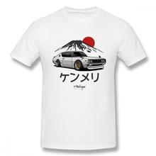 Man Nissan Skyline Kenmeri T shirt Car Tee Shirt 100% Cotton T-Shirt Summer Streetwear Camiseta