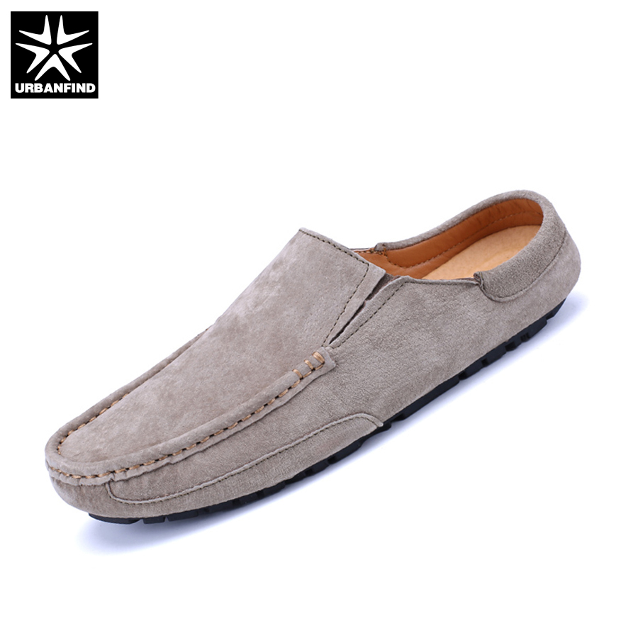 URBANFIND 2017 New Arrive Men Leather Casual Loafers Shoes EU Size 38-44 Easy Slip-on Man Comfortable Footwear urbanfind men fashion leather loafers big size 38 48 comfortable soft man slip on driving shoes 5 colors fur no fur 2 styles