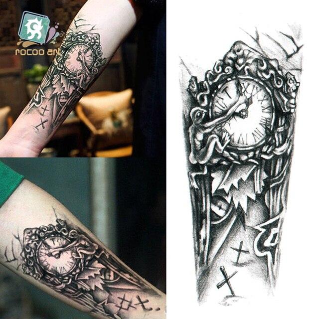 Rocooart Qc604 20x10cm Tatuajes Temporales Tattoo Sleeves Body Art
