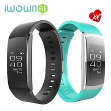 Iwown I6 PRO Inteligente Pulseira Sono Monitor de Freqüência Cardíaca Banda Inteligente Pulseira de Natação de Fitness Rastreador Inteligente Banda Inteligente
