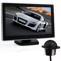 Car Rear View Reverse Parking Kit Car Rear View 5 Inch TFT LCD Digital Monitor LCD