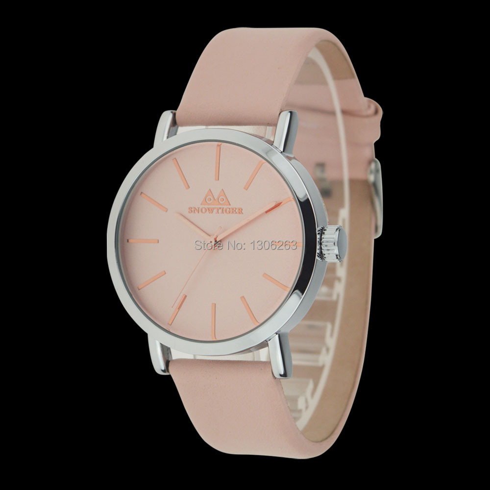 2016 Fashion Casual Quartz Women Watches High Quality Soft Leather Women Clock Waterproof Wristwatches For Women