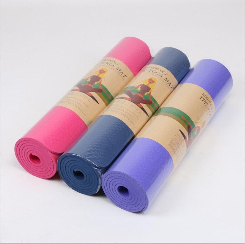 YINGTOUMAN 2019 tapis de Yoga tapis antidérapant pour débutant environnement Fitness gymnastique élastique tapis tapis Gym exercice tapis