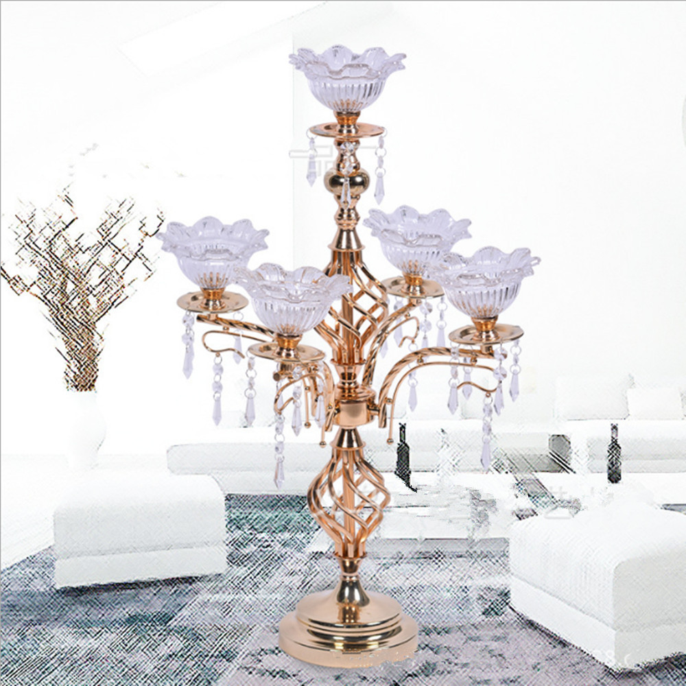 Old Fashioned Candelabras Wedding Centerpieces Image - The Wedding ...