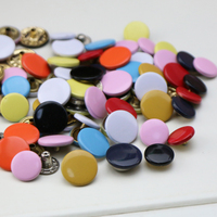 Free shipping rusts not snap button colour Baseball uniform jacket fleece cotton clothes buttons Need to buy tools installation