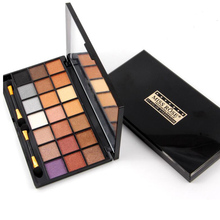 Miss Rose Makeup Professional Natural Matte Shimmer Eye Shadow Palette Easy to Wear Naked Nude 21 Color Eyeshadow Cosmetic Tools