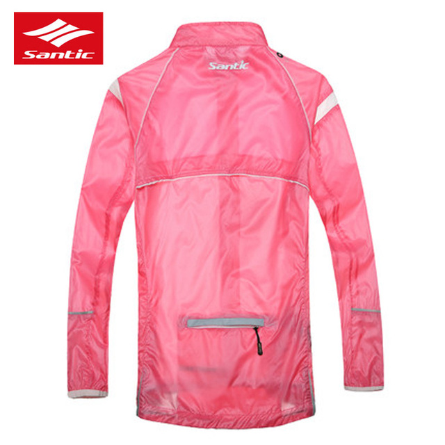 good out x best quality for clients first US $37.24 30% OFF|SANTIC Women's Windbreaker Sunmer Skin Rain Coat Moto  Bicycle Cycling Jackets New Anti UV Pink Female MTB Bike Sport Clothing -in  ...