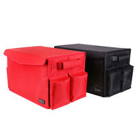 New Large Capacity Folding Storage Box Car Organizer Trunk Bag Toys Food Storage Truck Cargo Container Bags Box Stowing Tidying