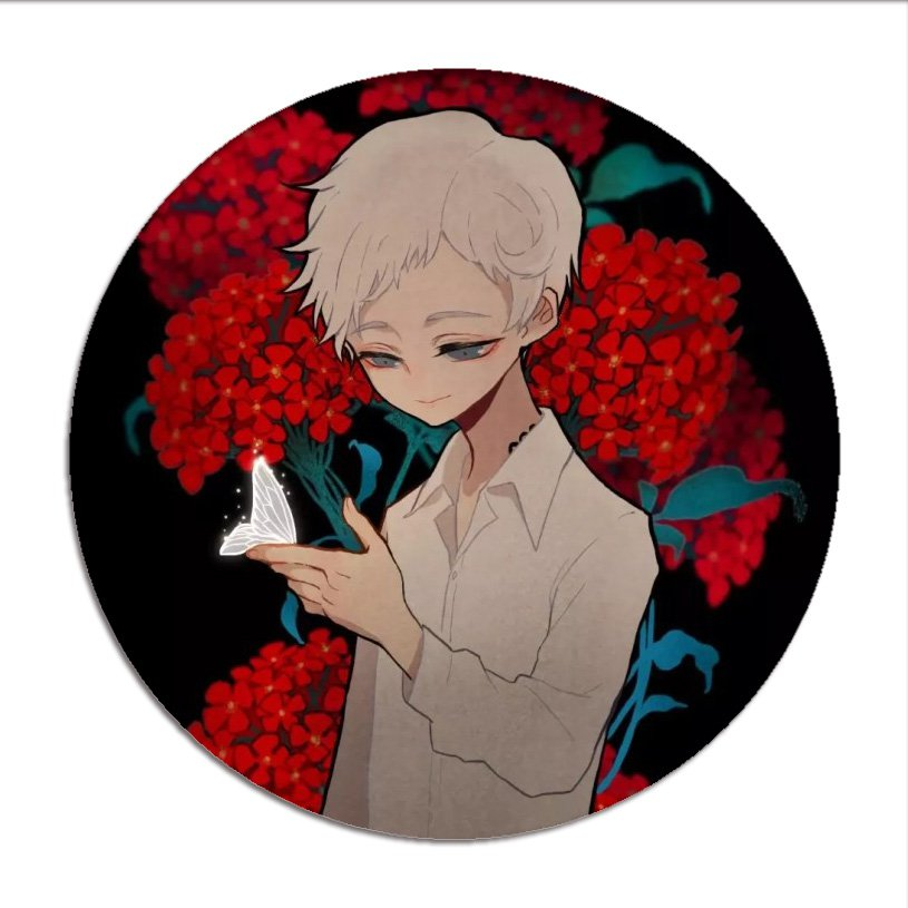 New The Promised Neverland Emma Cosplay Badges Norman Brooch Ray Icon Collection Bag Breastpin For Backpacks Clothing Buy At The Price Of 1 24 In Aliexpress Com Imall Com