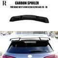 W177 R Stil Carbon Heckspoiler Spoiler für Benz W176 A Klasse A180 A200 A250 A260 & A45 AMG 2018 2019 2020 Spoiler & Flügel    -