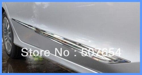 Бесплатная доставка! выше звезда из нержавеющей стали 4 шт. Боковая дверь Streamer/боковой двери бар/боковой двери защиты бар для Honda Crider 2013