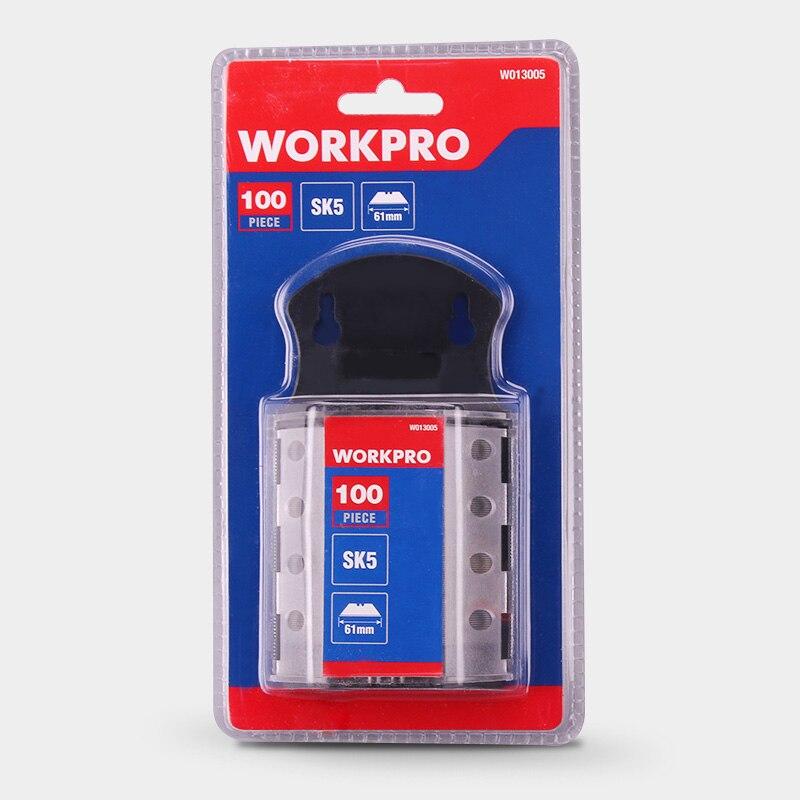WORKPRO W013005 lames d'origine lames robustes pour couteau SK5 lames de couteau en acier 100 PCS/Lot