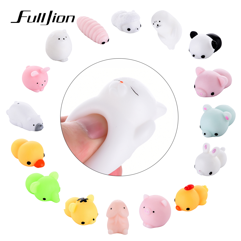 Fulljion Stress Relief Toys Cat Mochi Squishy Squish Surprise Gags Practical Jokes Squishi Kawaii Funny For ChildrenFulljion Stress Relief Toys Cat Mochi Squishy Squish Surprise Gags Practical Jokes Squishi Kawaii Funny For Children