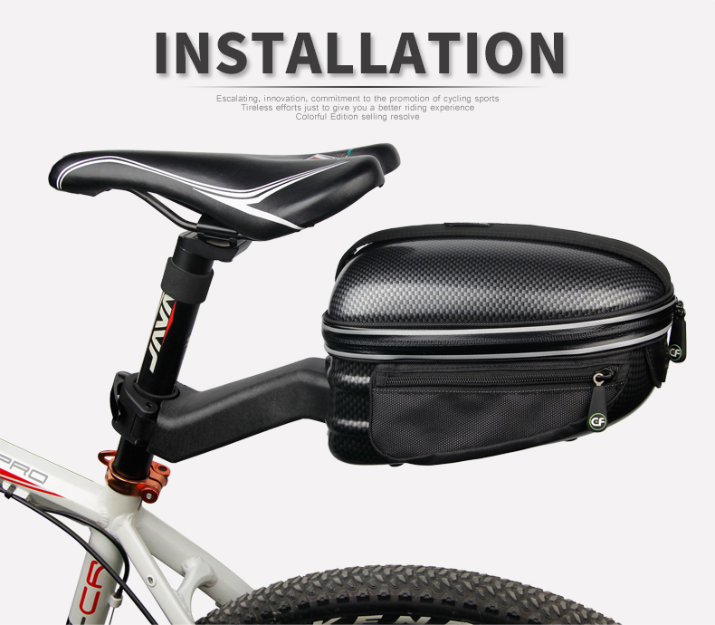 Tireless Roswheel Bicycle Bag Multifunction 13l Bike Tail Rear Bag Saddle Cycling Bicicleta Basket Rack Trunk Bag Shoulder Handbag Bicycle Bags & Panniers
