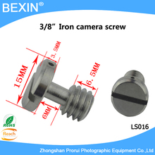 "5pcs/lot Popularity UNC3/8"" Stainless steel Camera Screw, Camera Photo Parts Accessories Screws for Camera Quick release plates"