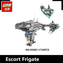 IN STOCK LEPIN 05083 1736Pcs MOC Series The Nebulon-B Medical Frigate Set children Educational Building Blocks Bricks