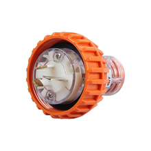 3Pin 250V 15A Australian New Zealand Standard Flat Pin IP67 Industrial Waterproof Plug 56P315