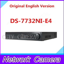 Original English Version NVR DS-7732NI-E4 Embedded NVR 32ch Onvif NVR IP Camera NVR Onvif 4 HDD