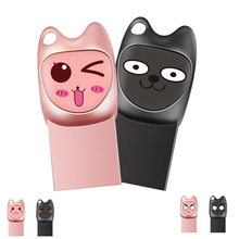 Get more info on the Cute Cartoon USB Flash Drives 64GB Pendrive Personalizado 32GB 16GB 8GB Pen Drive USB Stick For Couple Girl Wedding Gift
