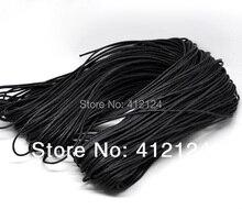 80 M Negro Algodón Encerado Collar de Cuerda de La Joyería de 2mm Dia.