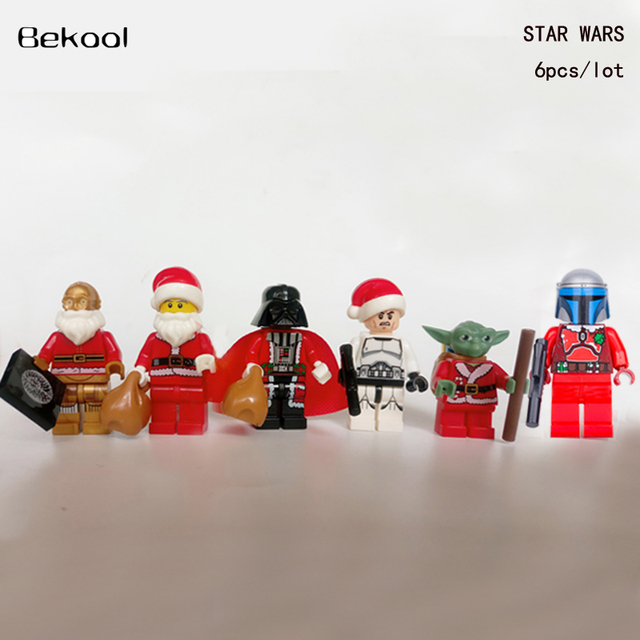 Aliexpress  Buy 6pcs/lot Christmas Santa Claus Star Wars Darth