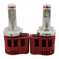 2PCS Car LED Headlight P6 45W H15 4500LM White 6000K Light Source Universal Auto Car Driving