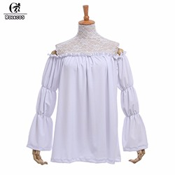 ROLECOS-New-Arrival-Fashion-Lolita-Style-Women-Blouse-Off-the-Shoulder-Slash-Neck-Long-Sleeve-Lolita