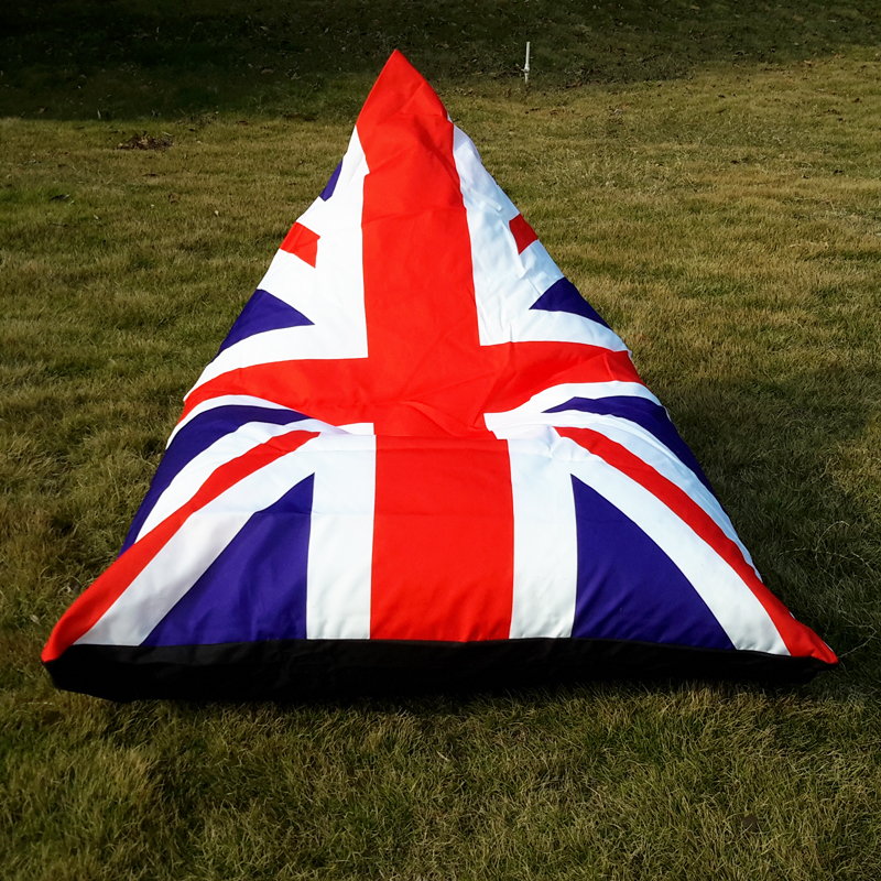 123X115X90CM British flag style Outdoor Bean Bag Chair Garden Camping  Beanbags cover Lazy Sofa Anywhere Portable Sitting Cushion-in Living Room  Chairs from ...