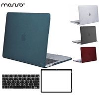 MOSISO Mac Pro 13 Touch Bar Matte Plastic Hard Cover Case For Macbook Pro13 A1706 A1708