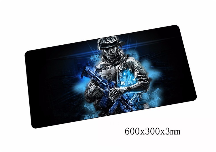 Battlefield 3 mouse pads 600x300x3mm pad to mouse notbook computer mousepad best gaming mousepad gamer to laptop mouse mat