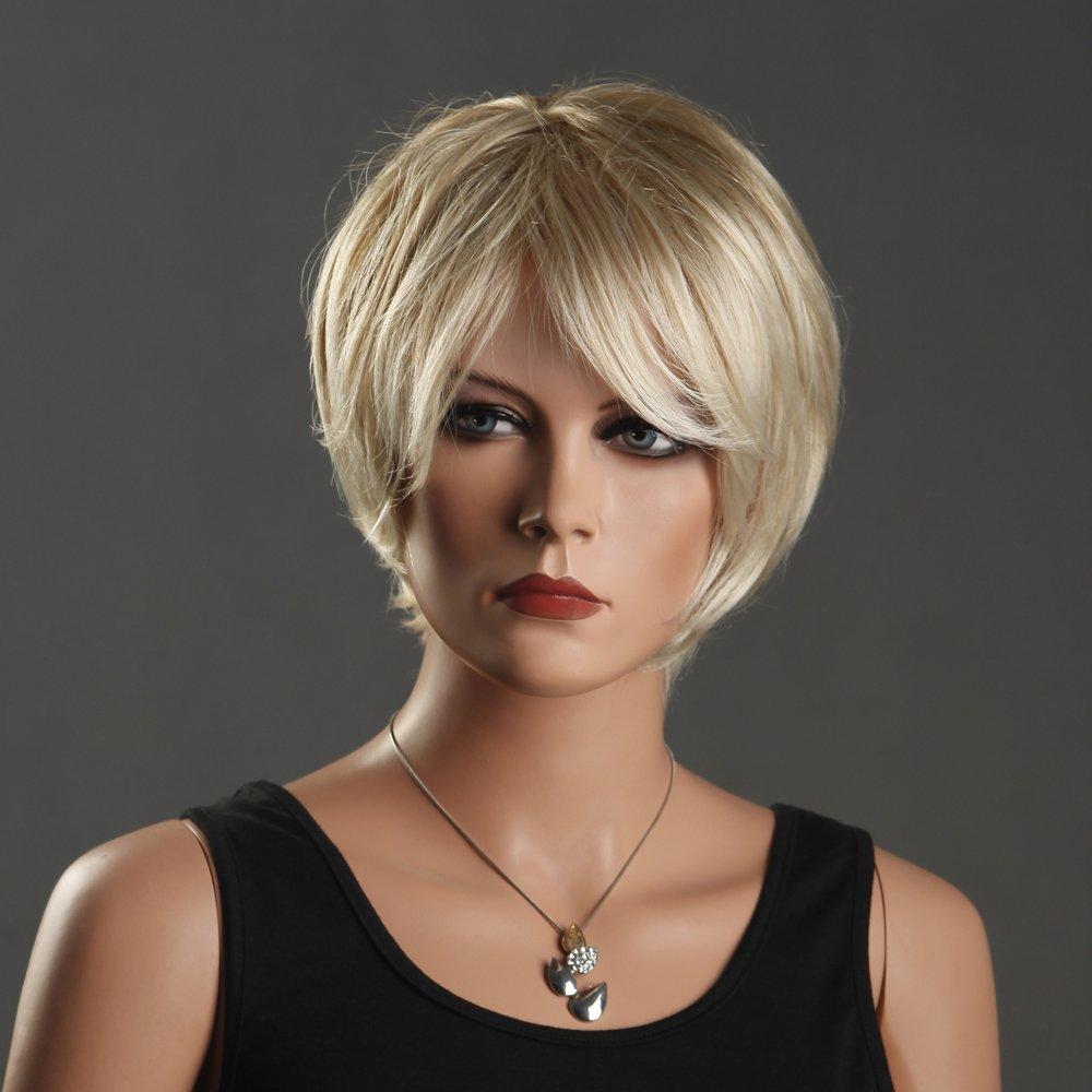 Popular Short Blonde Wig-Buy Cheap Short Blonde Wig Lots -5721