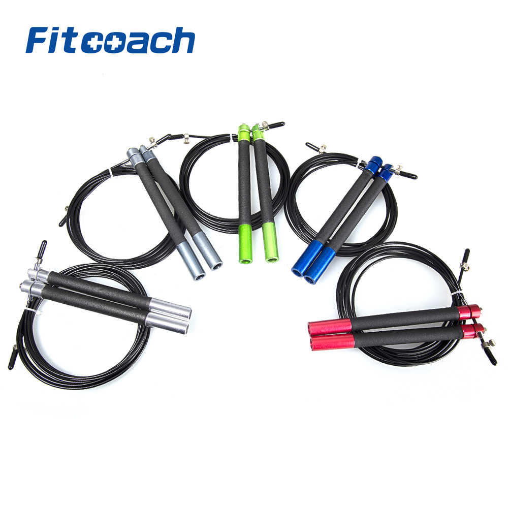 UIC-JR15 Bola bantalan Skipping Rope Jump Rope Crossfit Fitness Equipment Gym Surge