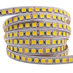5 м гибкая светодиодная лента 5054 5050 SMD 120 светодиодный s/M гибкий ленточный светильник DC 12 В ярче, чем 2835 5630 7 цветов для украшения дома