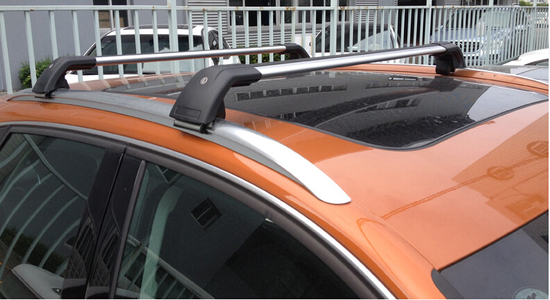 luggage cross bar (cross beam) roof rack roof rail for XC90 XC60 2013-2017,thicken aluminium alloy(best), very popular in China