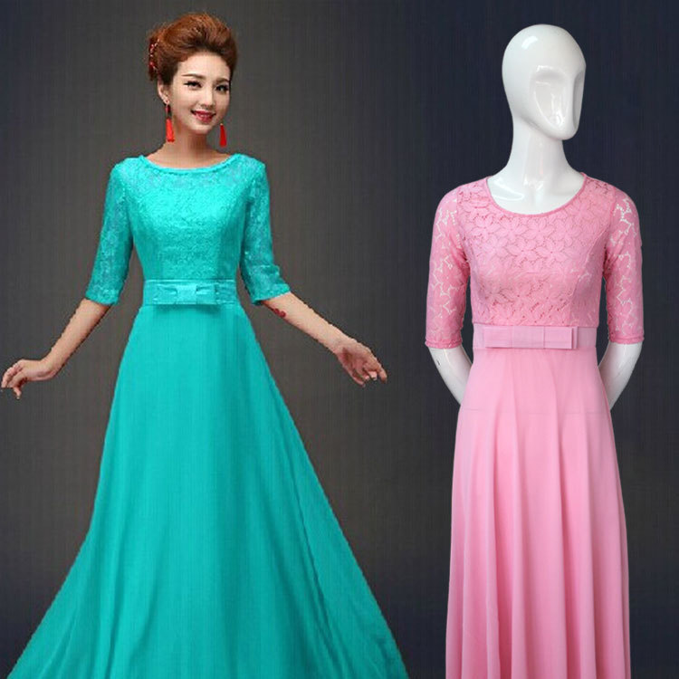 f4007d8670 Fashion Designer Lady Dress Simple Maxi Long Women Names Of Dresses Styles-in  Dresses from Women s Clothing on Aliexpress.com