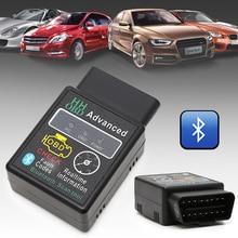 Herramienta de diagnóstico automotriz ELM327 V2.1, escáner de interfaz OBD 2 OBD II para coche, con Bluetooth, Android, alta calidad, novedad de 2019