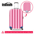 Dispalang 3D geometric pattern elastic luggage protective cover for 18-30 inch trolley trunk case dustproof rain protector cover