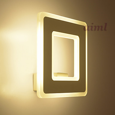 LED Integrated  12W Wall Sconces LED Modern/Contemporary Metal Size 22*22*10cm 85-265vLED Integrated  12W Wall Sconces LED Modern/Contemporary Metal Size 22*22*10cm 85-265v