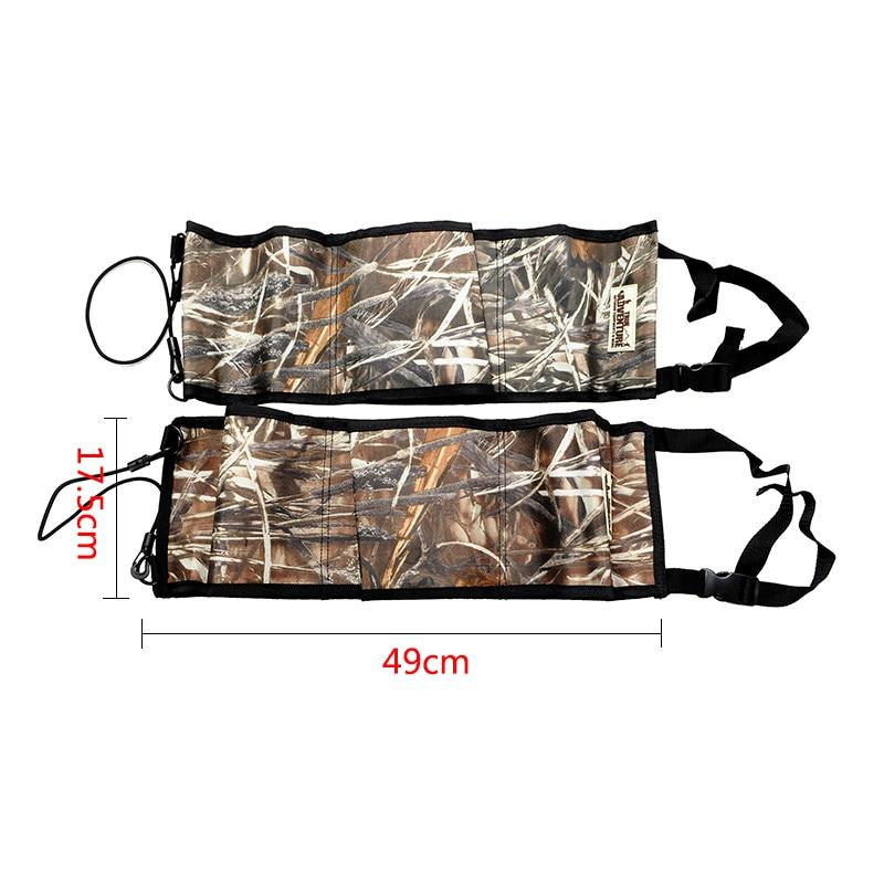 New Outdoor Hunting Multi-Functional Camouflage Car Rear <font><b>Seat</b></font> Belt Equipment Kits <font><b>Rack</b></font> Hunting Bag