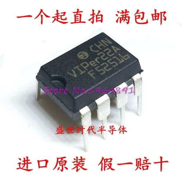 10pcs/lot VIPer22A VIPer22 DIP-8 In Stock
