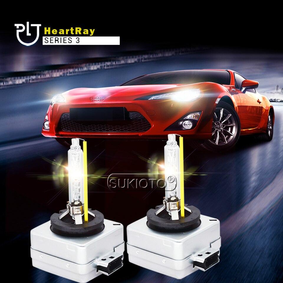 SUKIOTO 2PCS xenon D1S D2S D2H H7 H11 H1 HB3 D3S Heartray Born for Lens Bulb Super Fast Bright 35W xenon hid lights car Headlamp (7)