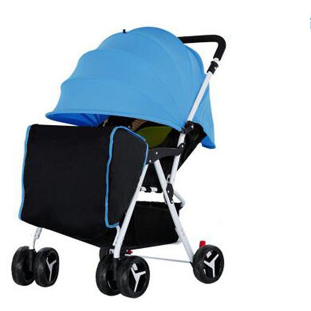 Cochecito de bebé plegable portátil ultra-ligero de verano el 4 hadnd 4runner paraguas coche bb bebé niño pequeño coche de bebé